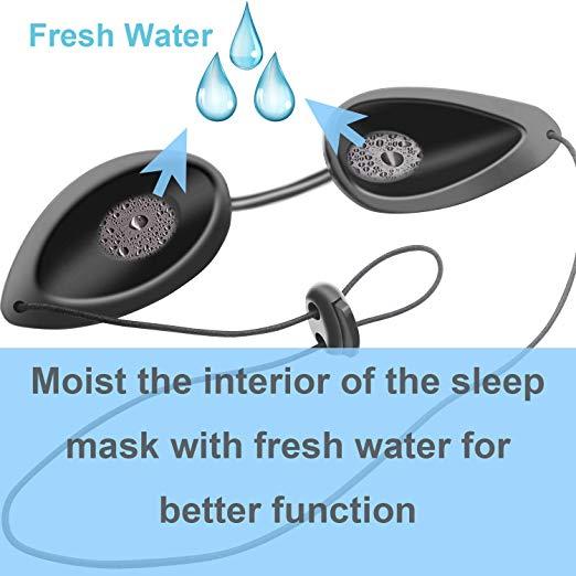 how to use Wahah Sleep Mask