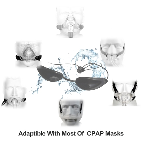 Wahah Sleep Masks are compatible with most CPAP masks.